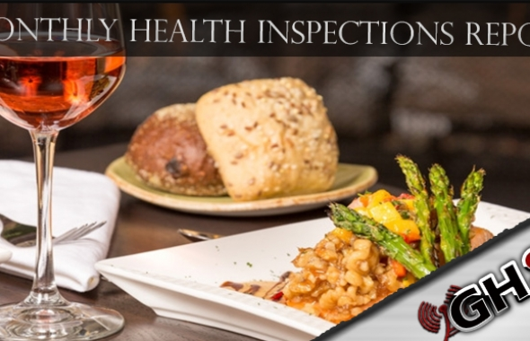 September 2017 Health Inspections Report Released