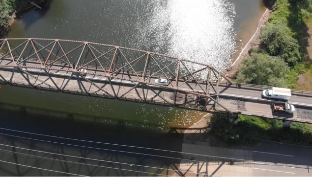 Intermittent 15 Minute Day Time Closures Expected on SR 107 Chehalis River Bridge Construction